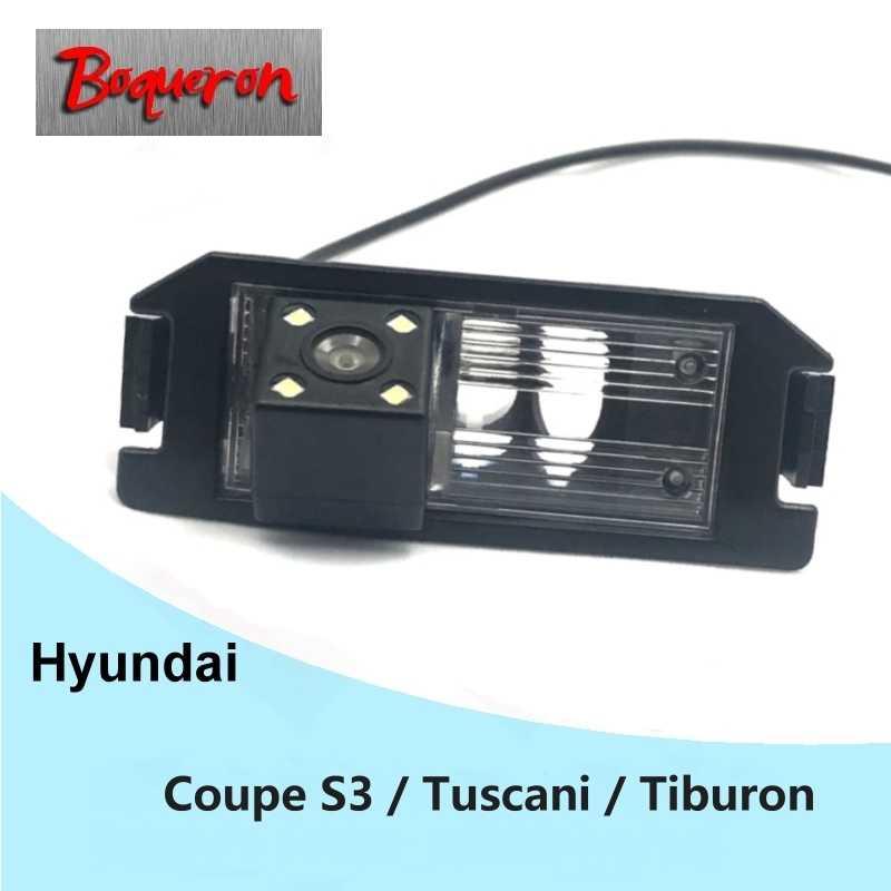 現代クーペ S3 Tuscani でティブロン 2002 〜 2008 車のリアビューカメラの Hd CCD ナイトビジョンリバースパーキングカメラバックアップカメラ NTSC PAL