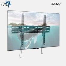 CNXD العالمي التلفزيون جدار جبل إمالة قوس إطار التلفزيون ل 32 65 مؤشر LED LCD بالبوصة رصد لوحة مسطحة البلازما HDTV حامل حامل