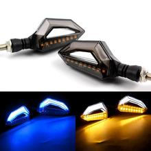 High Quality 1 Pair Universal Led Motorcycle Turn Signal Indicators Lights Lamp 10W DC12V Light