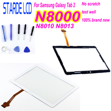 Starde 10.1'' For Samsung Galaxy Note N8000 N8010 N8013 Touch Screen Digitizer Sensor Outer Glass Tablet PC Replacement Parts srjtek 8 inch for samsung galaxy note 8 0 n5110 lcd display screen touch digitizer sensor tablet pc assembly replacement parts