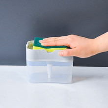 And Sponge Caddy  2-in-1Sponge Rack Soap Dispenser Soap Dispenser Oct 22nd