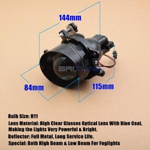 Image 4 - Fog Light PTF For Toyota Corolla/Yaris/Avensis/Camry/RAV4/Peugeot/Lexus H11 Bixenon Projector Lens Car Lights Accessories Tuning