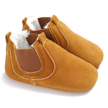 2019 Baby PU Leather Shoes toddler moccasins leopard print baby shoe Non-slip first walkers shoes for newborn boys girls 1