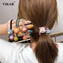 Новинка vikar женские милые эластичные резинки для волос с милым