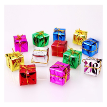 Christmas Tree Decorations Bags Christmas Laser Gift Package 3cm Laser A pack of 12 Christmas Gift Packs