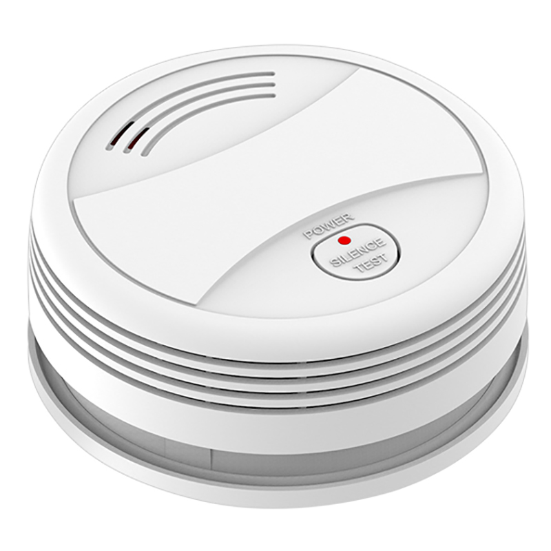 AMS-WIFI Smoke Detector Tuya APP Fire Alarm System Sensor For Android IOS APP Remote Control