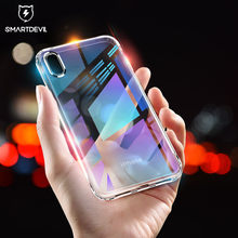 Smartdevil Ultra Thin Clear Case Voor Iphone 7 8 6 S Plus X Xs Max Xr Soft Tpu Siliconen Case telefoon Back Cover