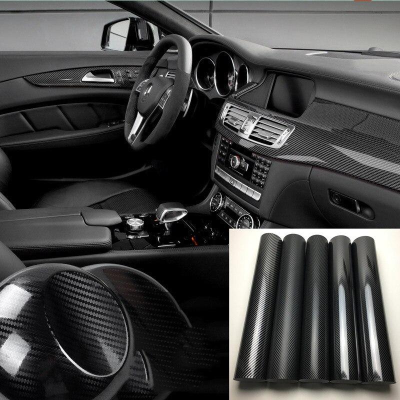 50*150 см 3D/5D Автомобильная виниловая пленка из углеродного волокна, пленка для изменения цвета кузова автомобиля, высокая яркость, стерео, мотоциклетная пленка для переоборудования