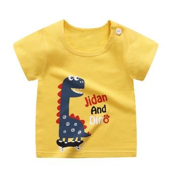 boy's cotton t-shirt dino
