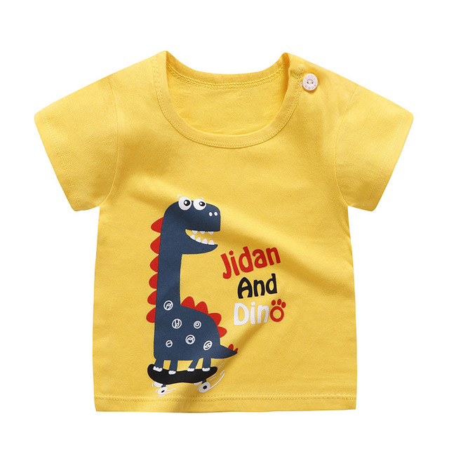 boy's cotton t-shirt dino