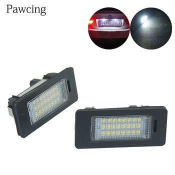 1pcs 2pcs LED Light Licenses Plates Lights Bulb Taillight DC 12V For BMW E39 E60 E82 E70 E90 E92 X3 5 6 License Plate Lighting image