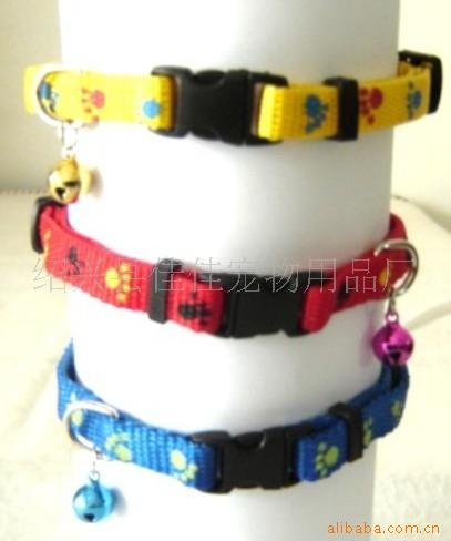 Fashion Reflective Pet Collar High Quality Dacron Dog Traction Belt Support Sample