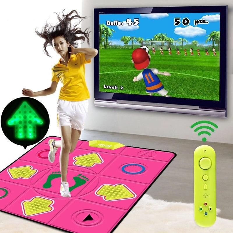 Sport jouet corps minceur Relax danse éclairage massage pad antidérapant 3D danse étape jeu fitness tapis couverture pour PC TV