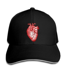 Gorra de béisbol para hombre, gorra de béisbol para mujer, divertida, clásica, con estampado personalizado, de Anatomía de corazón, gorra de béisbol para hombre