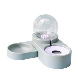 Новые Пузырьковые миски для домашних животных, автоматическая кормушка для кошек, 1,8л, фонтан для воды, питьевой собаки, котенка, контейнер д...