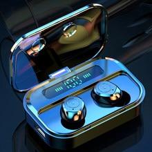 Tws sem fio bluetooth fones de ouvido esporte à prova dwaterproof água estéreo redução ruído jogos para huawei iphone xiaomi