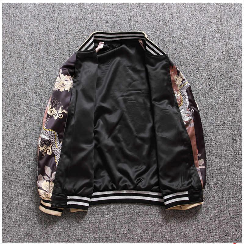 Lose qualität Herbst Frauen Überlegene Jacken Mäntel Stickerei Tiger Muster Streetwear Anzug Mantel Baseball Bomber Jacken HF306