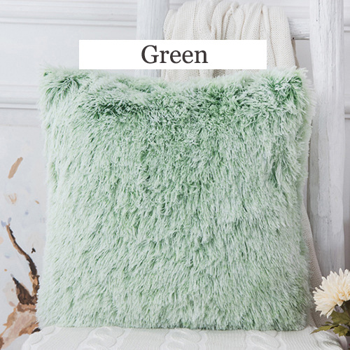 Soft Fur Pillows Case Plush Cushion Cover Home Decor Pillow Covers Living Room Bedroom Sofa Decorative Pillows Cover 43x43cm New 2