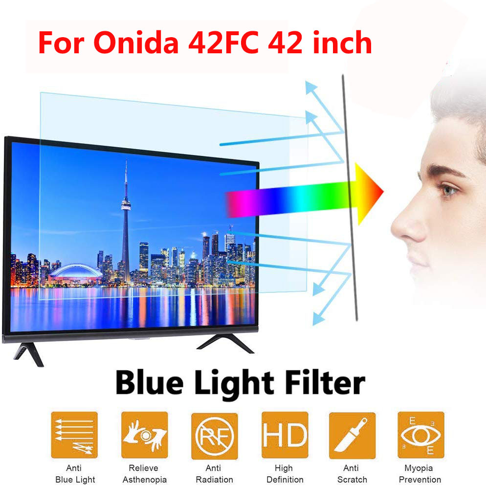For Onida 42FC 42 inch New Arrival Blue Light Screen Anti-Glare Anti-microbial Protective film for tv