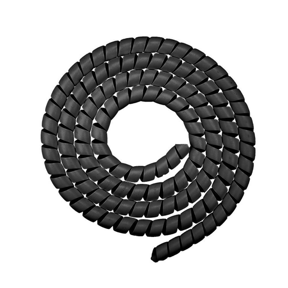 Enrouleur de câble protecteur ligne organisateur pour Xiaomi M365 câble spirale protecteur fil Protection enroulement tuyau enroulement e-bike Scoot D6Q5