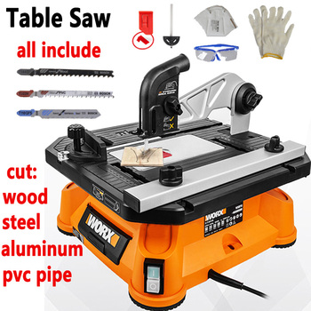 Electric Wood Saw Multi-functional Sawing Machine Wood Cutting Machine Carpentry Woodworking Jig Saw Table Saw Circular cutting woodworking multifunctional chainsaw logging saw electric sawing machine rechargeable electric chain saw 4556