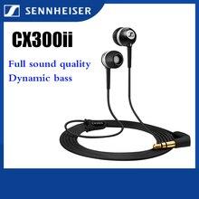 Wired Headset Sport Earbuds HIFI Deep-Bass Sennheiser-Cx-300-Ii Precision Original
