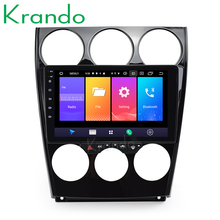 "Krando Android 9,0 9 ""táctil completa reproductor de radio para coche para Mazda 6 2002-2015 sistema de navegación multimedia estéreo de audio No 2din DVD"