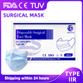 Medical Mask Disposable Face Mouth Mask Non-Woven Filter Anti Surgical Disposable Mask 3-Layers Protective Adult