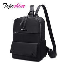 Toposhine Headphone Plug Women Backpacks Travel Backpack Multifunction Waterproof School Bag Female Mochila Notebook