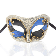 New Half Face Halloween Masquerade Ball Mask Carnival Anonymous Masks Musical Party Mardi Gras Fashion Shows 16.5*8cm