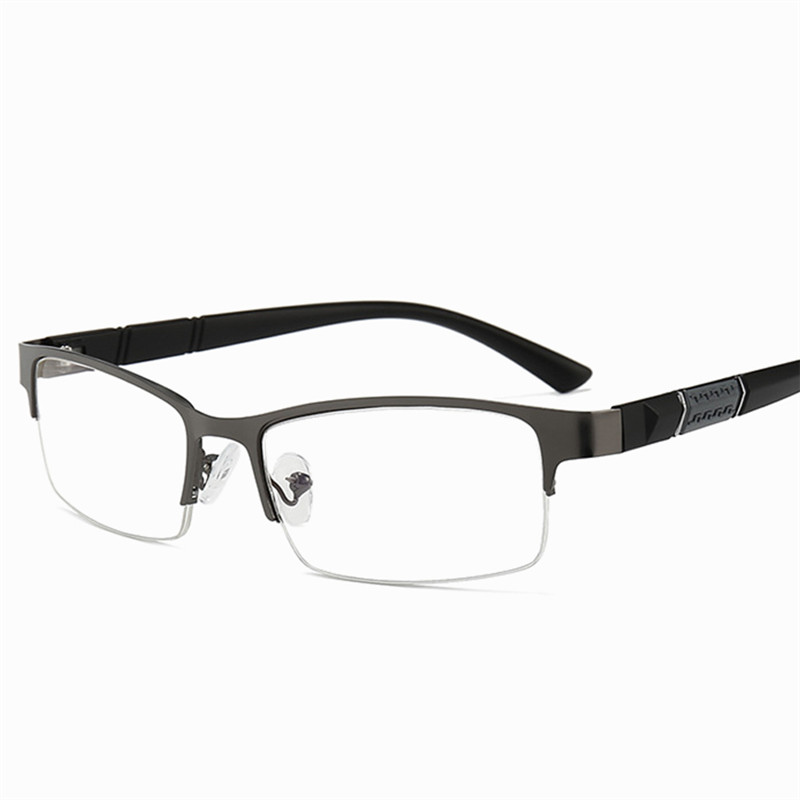 2020New Reading Glasses Men and Women High Quality Half Frame Diopter Glasses Business Men Reading Glasses Women Reading Glasses
