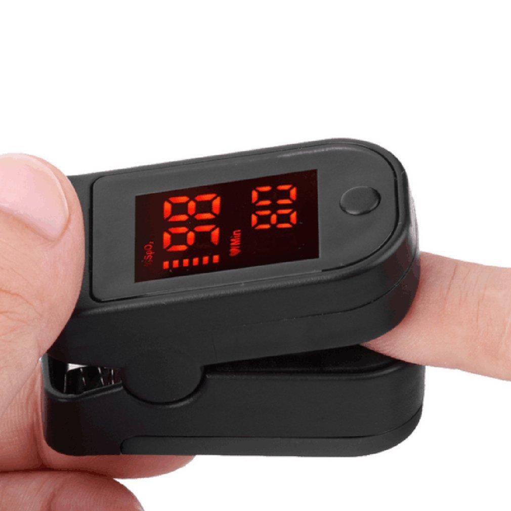 Hot Sale Pulse Oximeter Monitor Finger Pulse Oxymeter Digital Oxygen Meter Clip Type Spo2 Pr Sensor Oled Display Pulse Oximeters