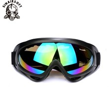 Tactical Windproof Sunglasses Goggles Eyewear USMC Paintball Military