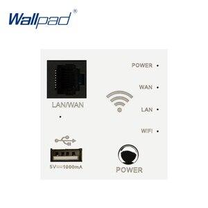 Image 2 - Настенный встроенный роутер Wallpad, ретранслятор Wi Fi, USB зарядное устройство, функциональный ключ для модулера только 55*55 мм