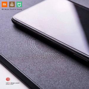 Image 2 - מקורי Xiaomi MIIIW משטח עכבר חכם Qi סטנדרטי תמיכה Mix2S אלחוטי טעינה שטיחי עכבר ABS עכבר מחצלת RGB אור משטח עכבר