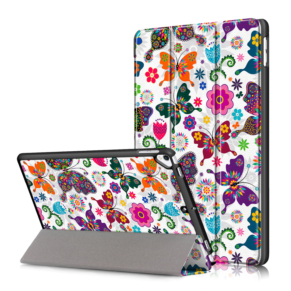 HD Clear Case For iPad 10 2 2019 7th Generation A2200 A2198 A2232 Smart Cover Funda Magnetic Folding