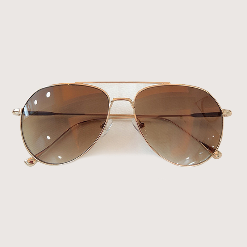 Retro Pilot Sonnenbrille Männer Frauen Mode Sonnenbrillen Kleidung Zubehör gafas de sol hombre - 3