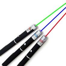 1000 м лазерная указка 5 мВт Высокая мощность зеленый синий красный точечный лазерный светильник ручка Мощный лазерный измеритель 405нм 530нм 650нм зеленый лазер