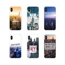 Acessórios Do Telefone Shell Capas Para Samsung A10 A30 A40 A50 A60 A70 M30 Galaxy Note 2 3 4 5 8 9 10 ALÉM de New york city