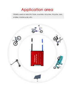 Image 5 - 8S 24V LiFePO4 BMS 15A 20A 30A 40A 60A BMS per la batteria Al Litio Li Ion LiFePO4 per la batteria biciclette e scooter e strumenti