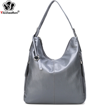 купить Ladies Casual Hand Bags Womens Large Handbags and Totes Soft Leather Crossbody Bags for Women New Elegant Shoulder Bag Female дешево