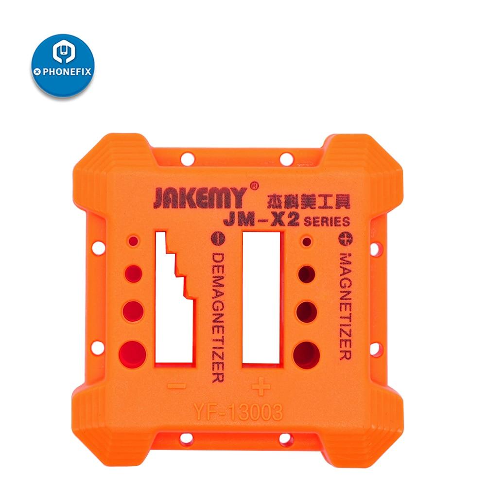 PHONEFIX nowy pomarańczowy magnetyzer demagnetyzer narzędzie śrubokręt uchwyt magnetyczny do podnoszenia na śrubokręt pincety Gauss Degauss