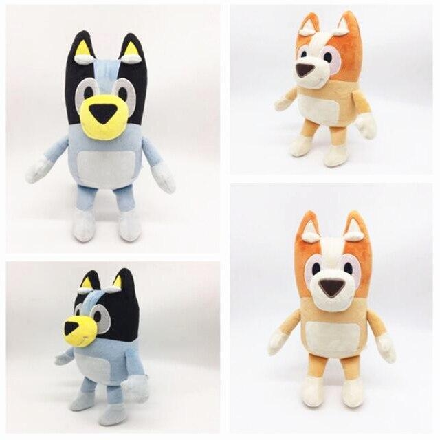 Cartoon Bluey Bingo Plush Toy Stuffed Animal Dog Dolls Lovely Puppy Toys Children Gift 28cm