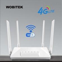 Разблокированный роутер 4g lte cat4 wi fi cpe мобильный хот