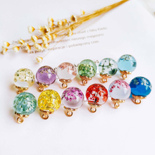 Clear Rhinestone Crystal Flower Pendant Necklace Eardrop Charms DIY Material Jewelry Earring Accessories 4pcs 1 5yards clear rhinestone trim chain banding crystal cake ribbon rhinestone flower glass trims sewing accessories