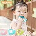 Keep & расти 1 шт. Улитка силиконовый Прорезыватель для зубов обновления чистый жидкий силиконовый детский Прорезыватель для зубов Зубная щет...