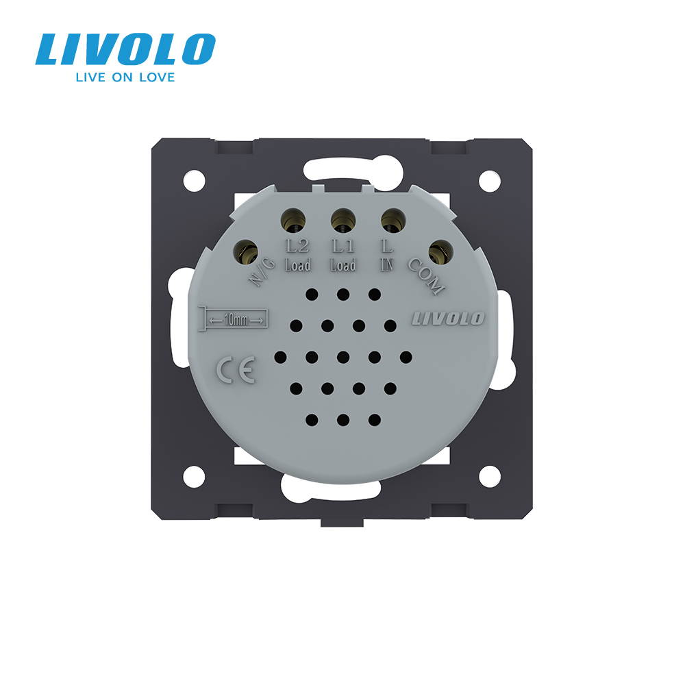 lowest price Livolo EU Standard WallTouch Curtain Remote Switch Blind control  AC 220 250V   LED Indicator