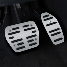 For  NISSAN Kicks car pedal gas foot rest stainless modified pad non slip performance aluminium fuel