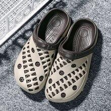 Оригинальные садовые Вьетнамки; быстросохнущая водонепроницаемая обувь; мужские прозрачные спортивные летние пляжные шлепанцы; уличные сандалии; AP LiteKnit; обувь