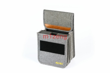 8 pockets 150mm square Lens Filter pouch storage case bag cover box For holds 150*150mm 150*170mm filter and S5/Q filter holder